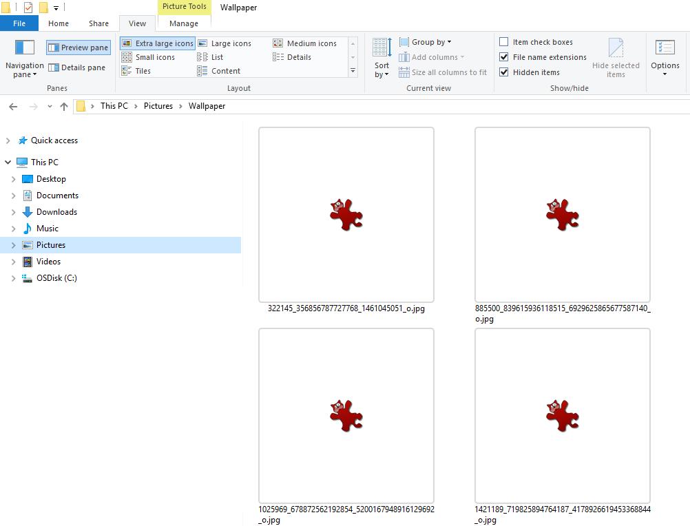IrfanView – Thumbnails not displaying in Windows Explorer