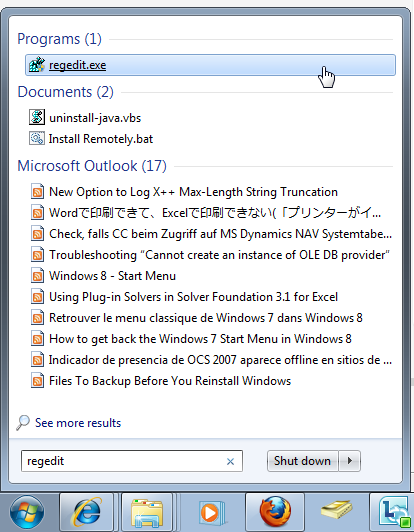 how to create separate folder in outlook 2007